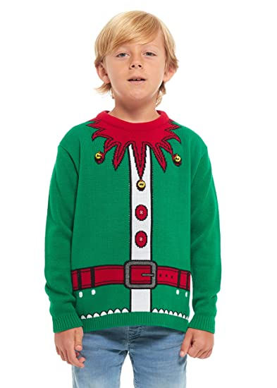 b083e163c107 HSA Boys Girls Kids Children Unisex Christmas Xmas Knitted Novelty ...
