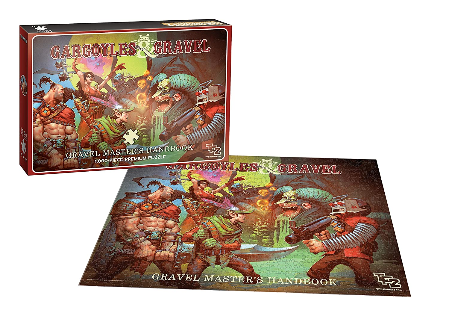 Multicolor Inc. USAopoly PZ120-521 Team Fortress 2 Gargoyles and Gravel Jigsaw Puzzle