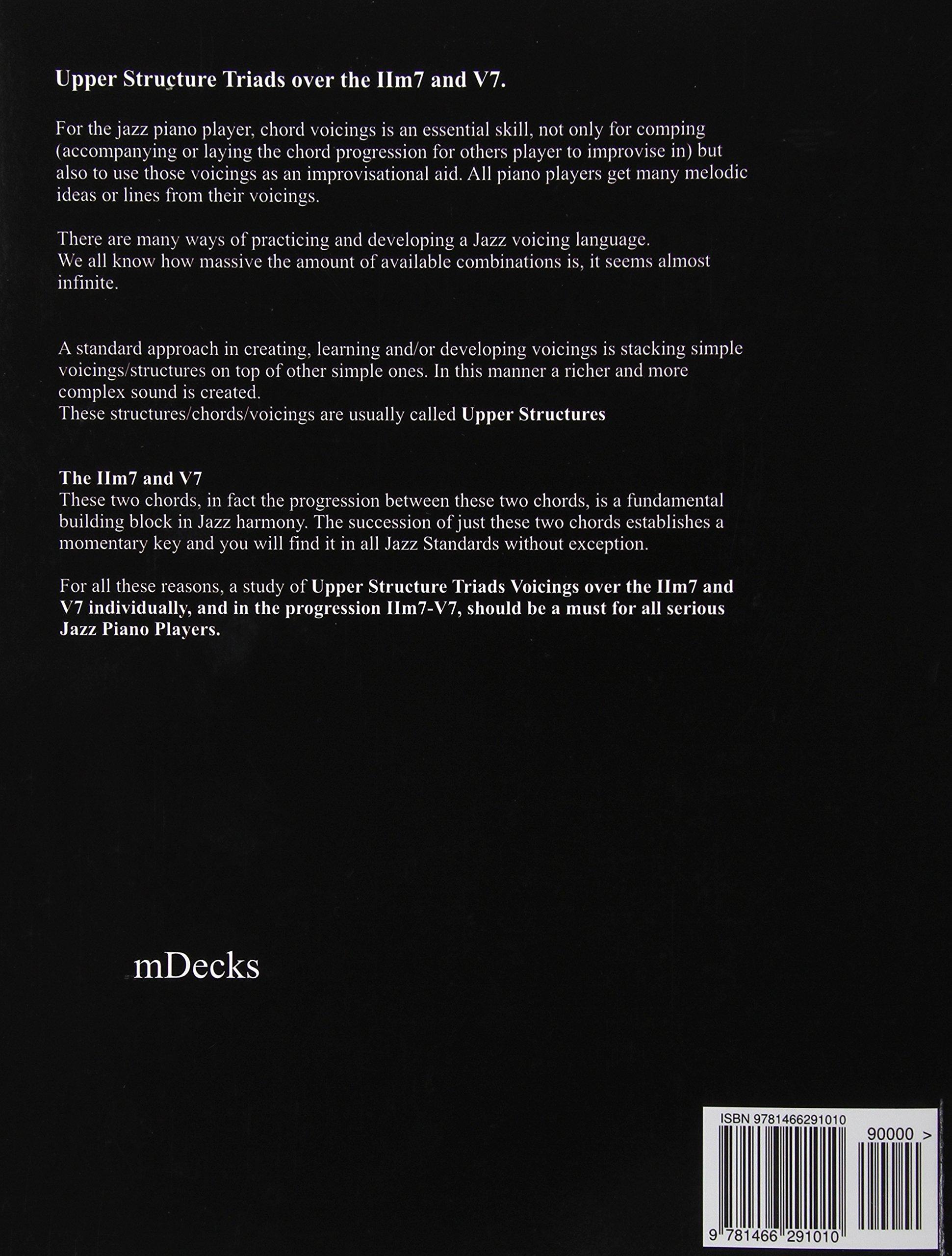 Ust jazz piano chord voicings vol 1 individual upper structures ust jazz piano chord voicings vol 1 individual upper structures triads over iim7 and v7 ariel j ramos 9781466291010 amazon books hexwebz Images