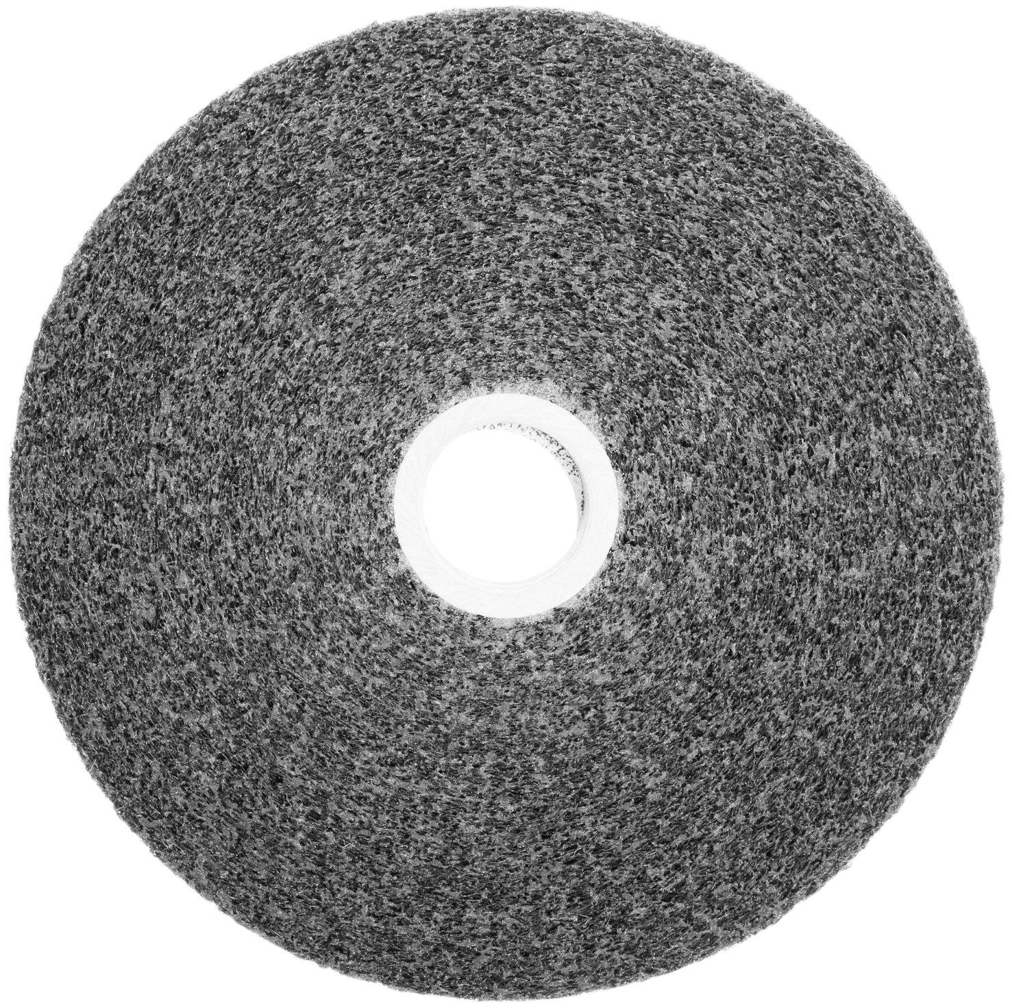 Scotch-Brite(TM) Multi-Finishing Wheel, Silicon Carbide, 6000 rpm, 6 Diameter x 1 Width, 1 Arbor, 2S Fine Grit  (Pack of 3) by Scotch-Brite