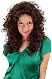 Party/Fancy Dress/Halloween WIG seductive Vamp CARIBBEAN LATIN style very curly kinky AMAZING VOLUME long BROWN PW0032-P4