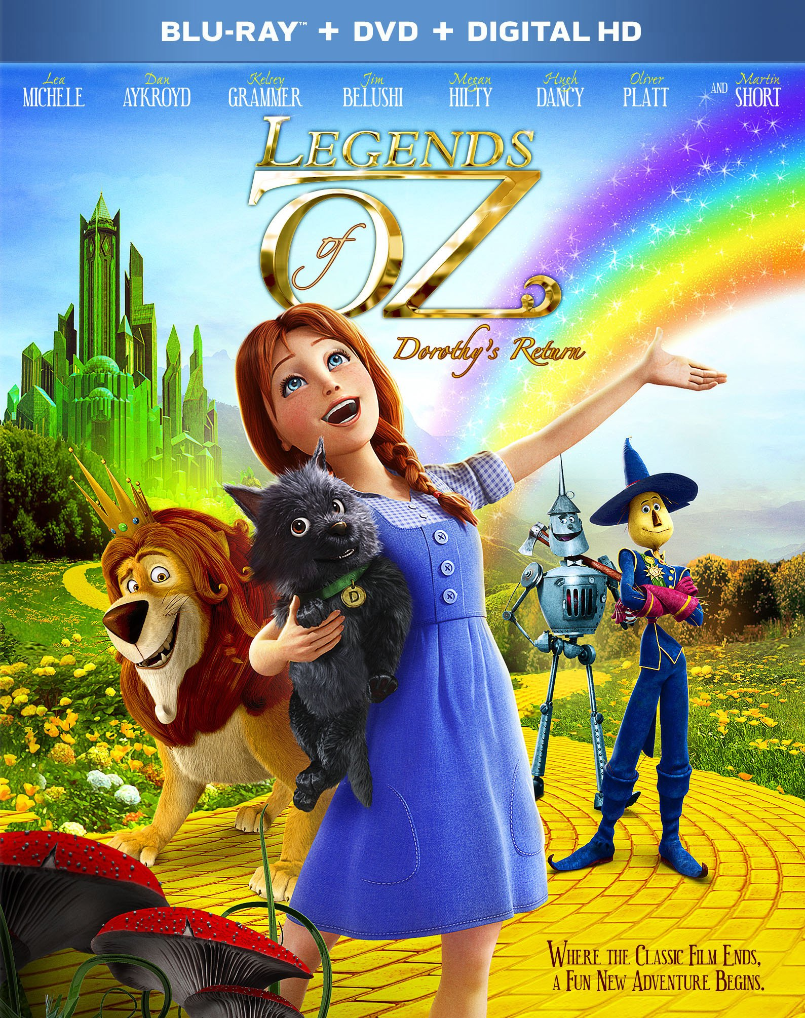 Blu-ray : Legends of Oz: Dorothy's Return (With DVD, Digital Copy, , Widescreen, Digital Theater System)