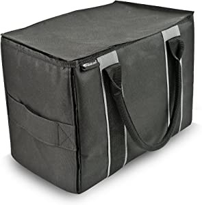 AutoExec AETote-02 Black/Grey Mini File Tote
