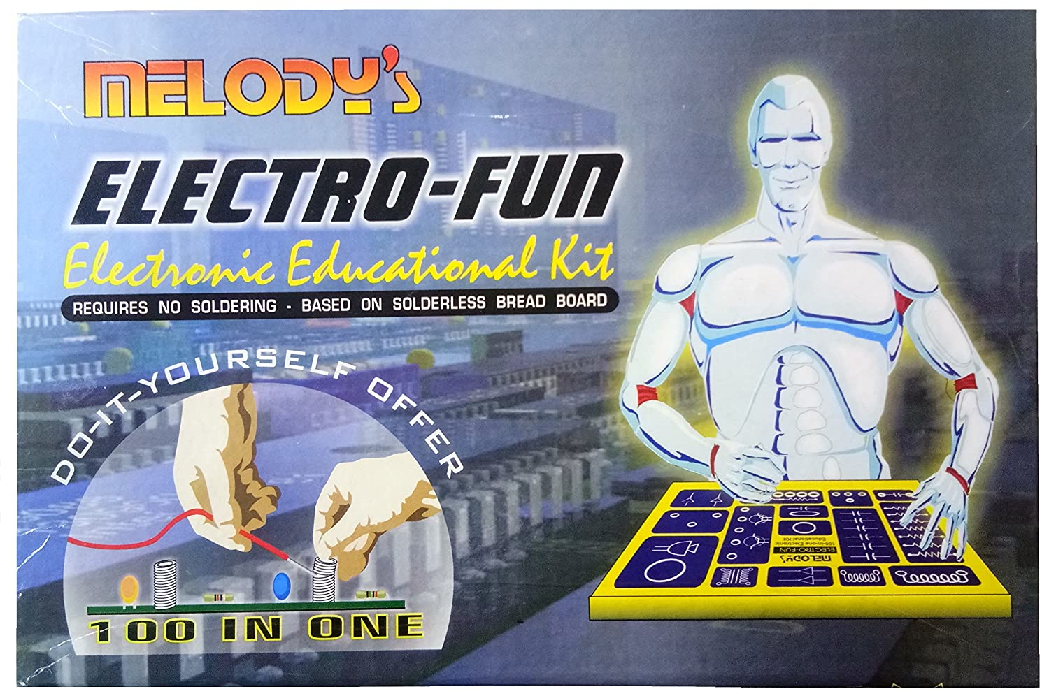 Buy Melodys Electrofun 100 In 1 Multi Project Electronic Hobby Mosquito Repellent Circuit Schematic Starters Kit Online At Low Prices India