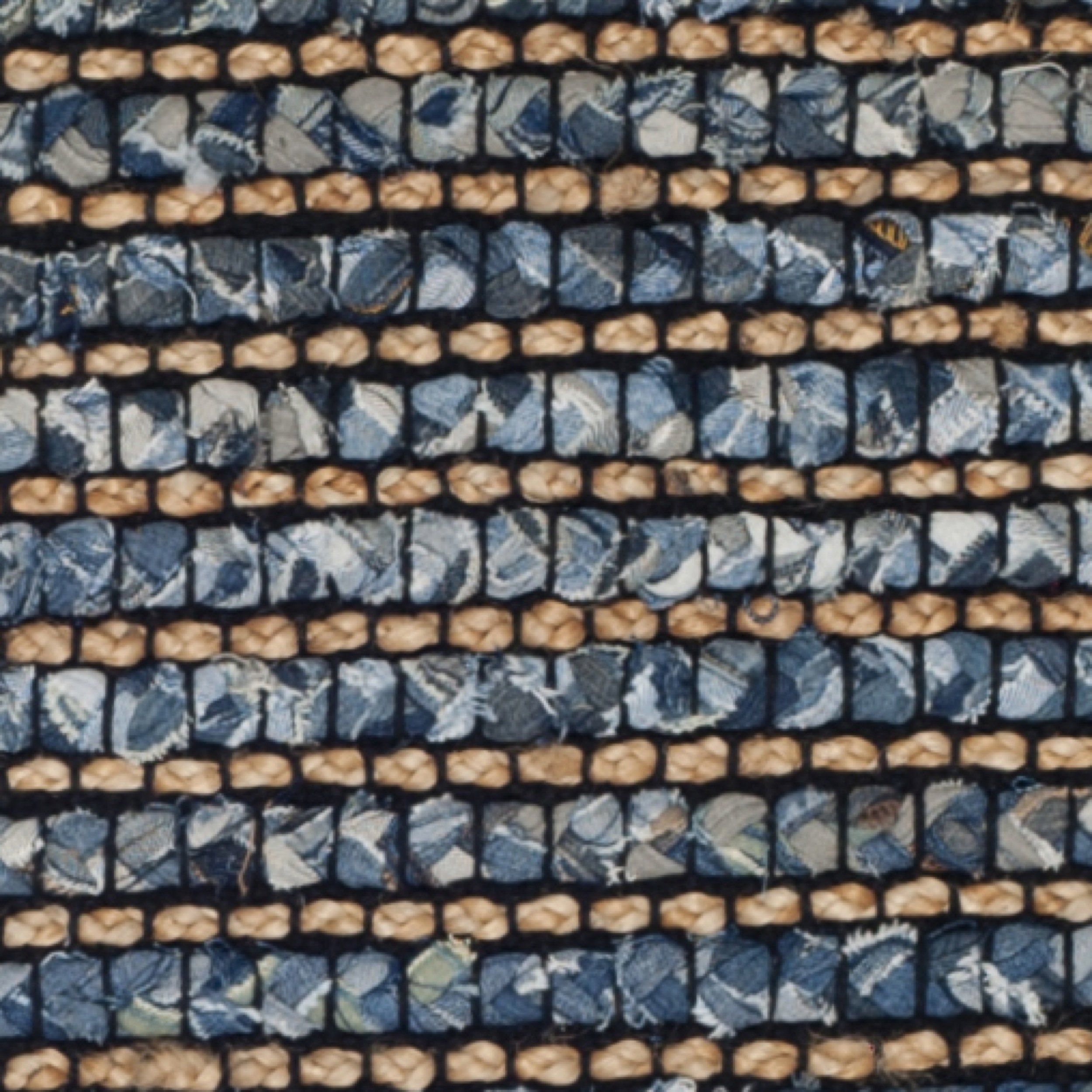 Safavieh Cape Cod Collection CAP365A Hand Woven Blue Jute Runner (2'3'' x 6') by Safavieh (Image #5)