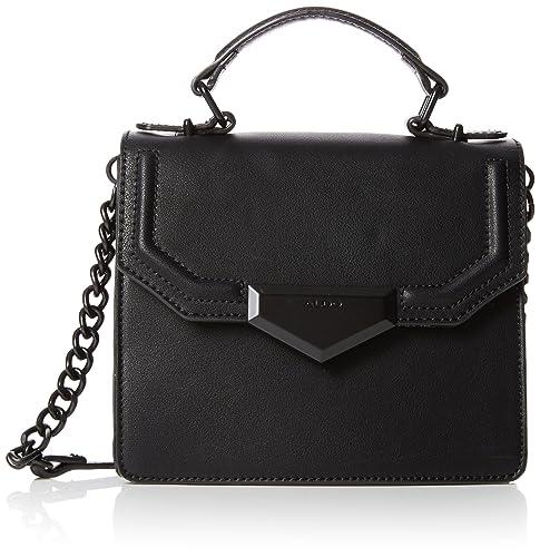 Aldo - Elroyria, Bolsos de mano Mujer, Black, 9x15x19 cm (W x