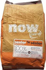 Now! 152348 Fresh Grain Free Senior Dog Food, 25-Pound Bag