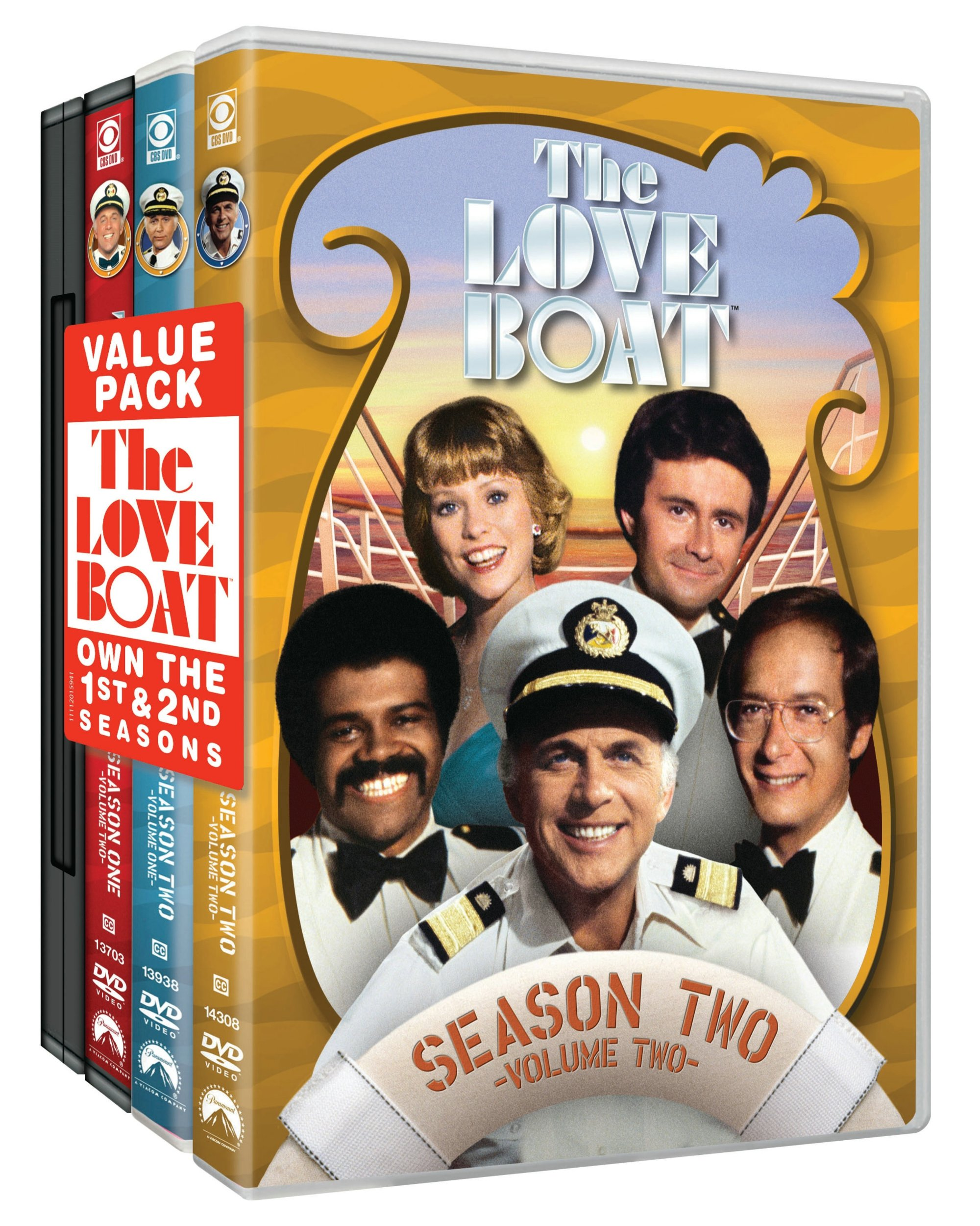 The Love Boat: Two Season Pack by Paramount