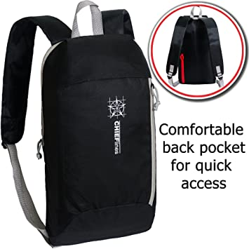 Amazon.com : Backpack 10L Capacity Hiking Daypack Mini Small ...