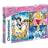 Clementoni - 252114 - Puzzle - Princesse - 3 x 48 Pièces