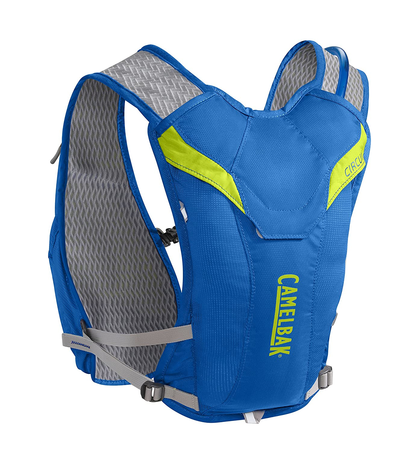 Camelbak 2016 Circuit Hydration Vest Electric Blue Ladder Logic Diagram For Bottle Filling System Lime Punch Sports Outdoors