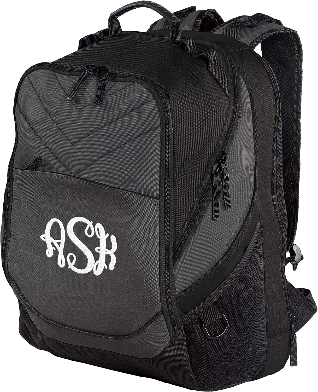 """Personalized Custom Business Computer Backpack - Add Your Monogram (17"""" Laptops)"""