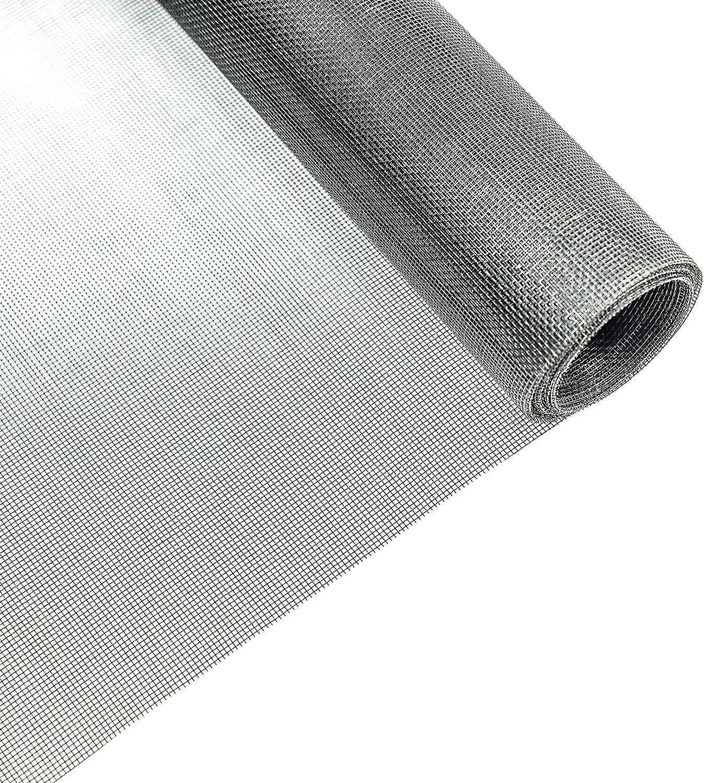 100 x 200 cm, schwarz Fliegengitter Schutz gegen M/ücken TESO Insektenschutz Gaze Durchsichtiges Fiberglasgewebe UV-best/ändig