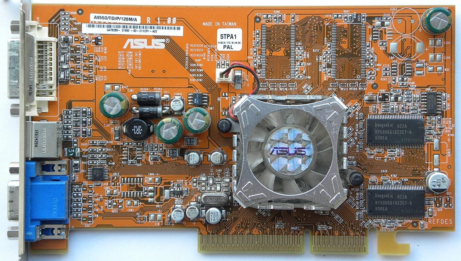 DRIVERS: ASUS A9550GE TD 128M A
