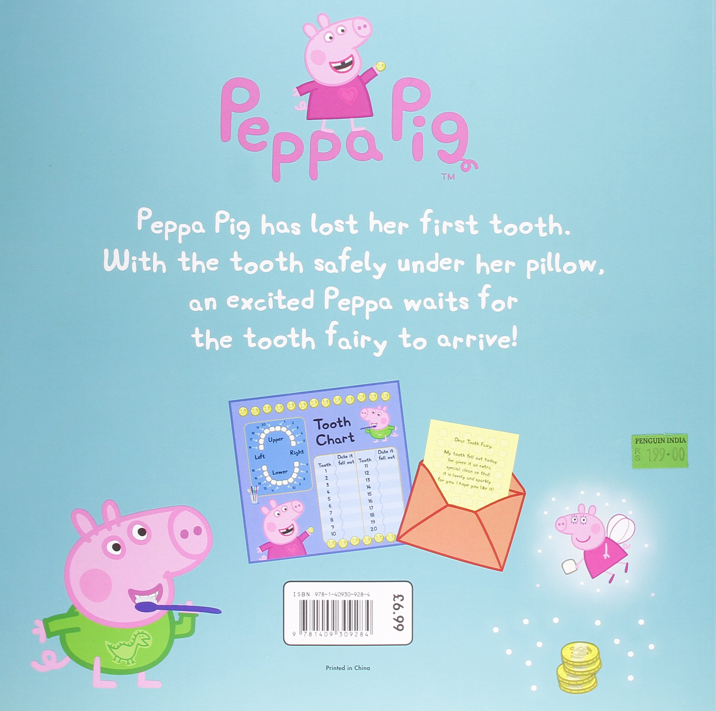 peppa pig peppa and the tooth fairy amazon co uk collectif