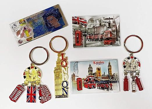 London Souvenirs Londres de Deal - contiene 3 6 imanes para la ...