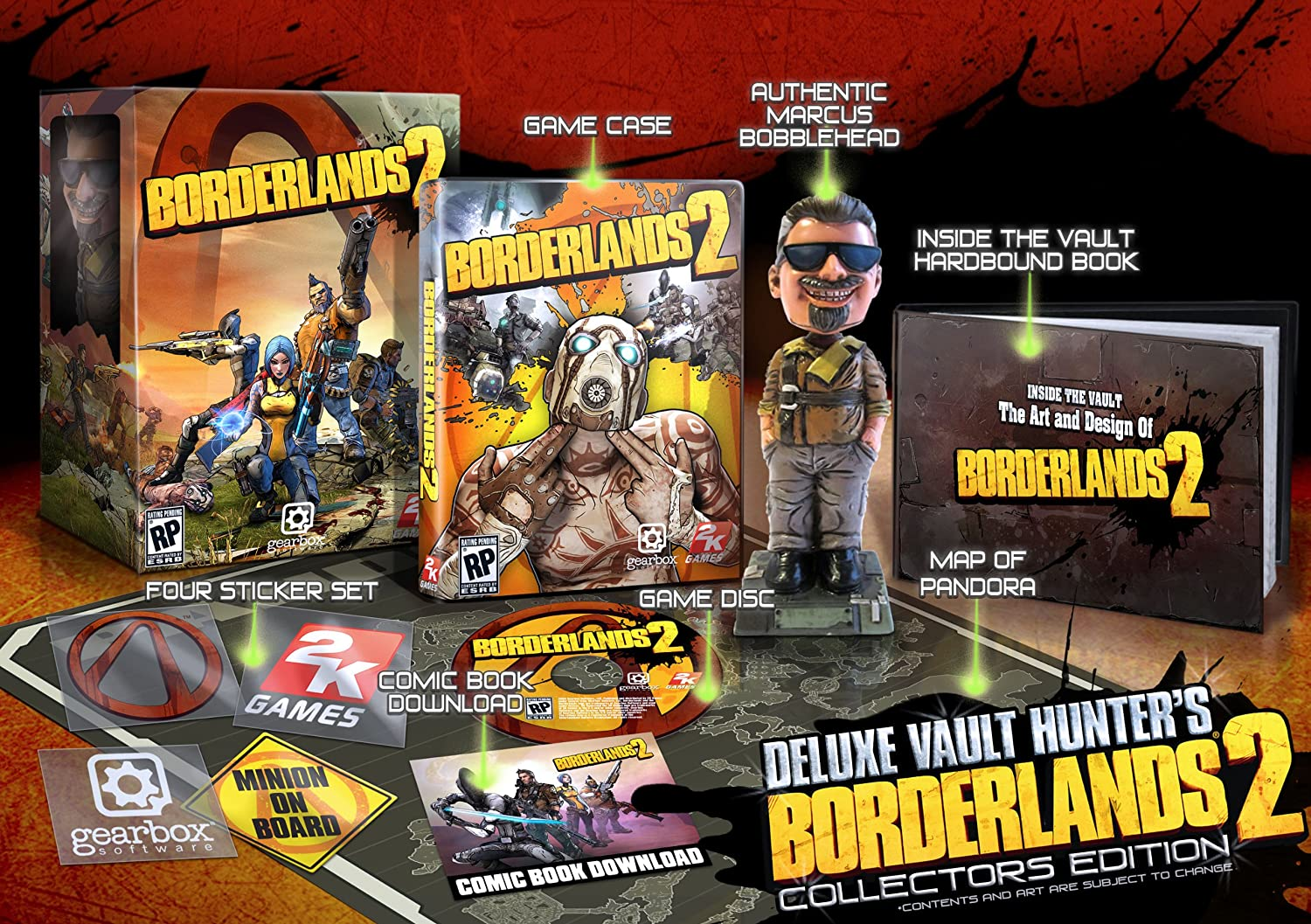 Amazon Borderlands 2 Deluxe Vault Hunters Edition Xbox 360 Video Games