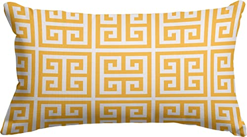 Majestic Home Goods Citrus Towers Indoor Outdoor Small Throw Pillow 20 L x 5 W x 12 H