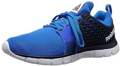 Reebok Men's Z Dual Rush 2.0 Running Shoe, Cycle BlueFaux