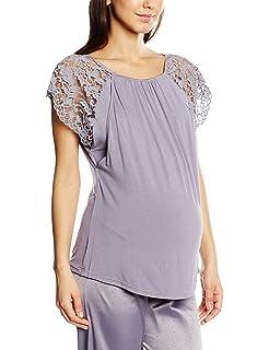 Womens Sofia Maternity Pyjama Top Cache Coeur