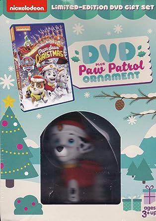 Pups Save Christmas Book.Paw Patrol Pups Save Christmas Dvd And Ornament Gift Set
