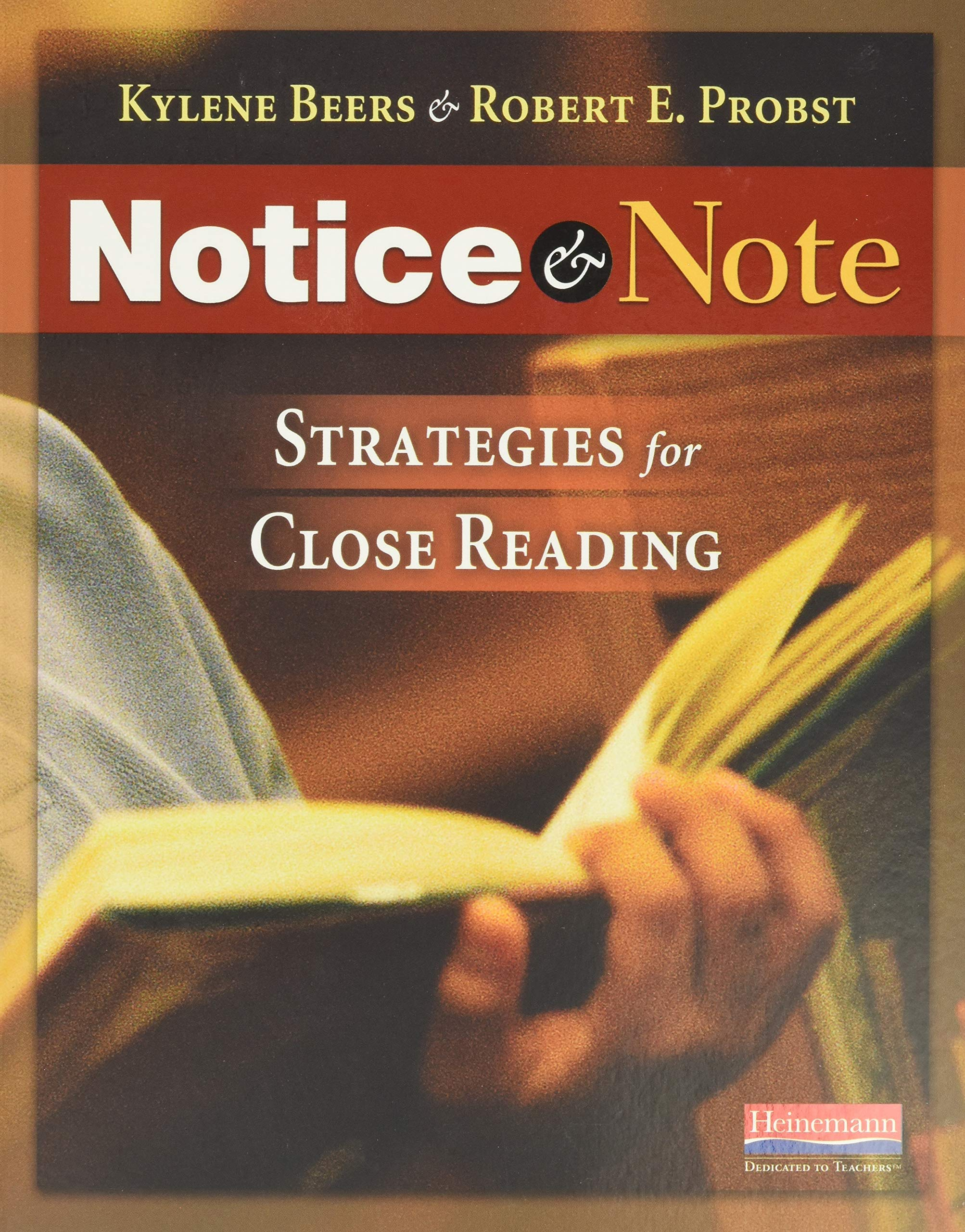 Notice & Note: Strategies for Close Reading: Amazon.es: Beers ...