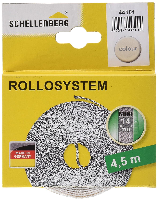 Schellenberg 11421 Sangle de volet roulant Gris 14 mm x 50 m