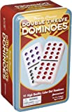 Pressman Double 12 Color Dot Dominos In A Tin