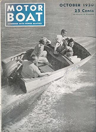 Motor Boat Cygnet Bristol Fashion Small Steel Cruiser 10 1950 At