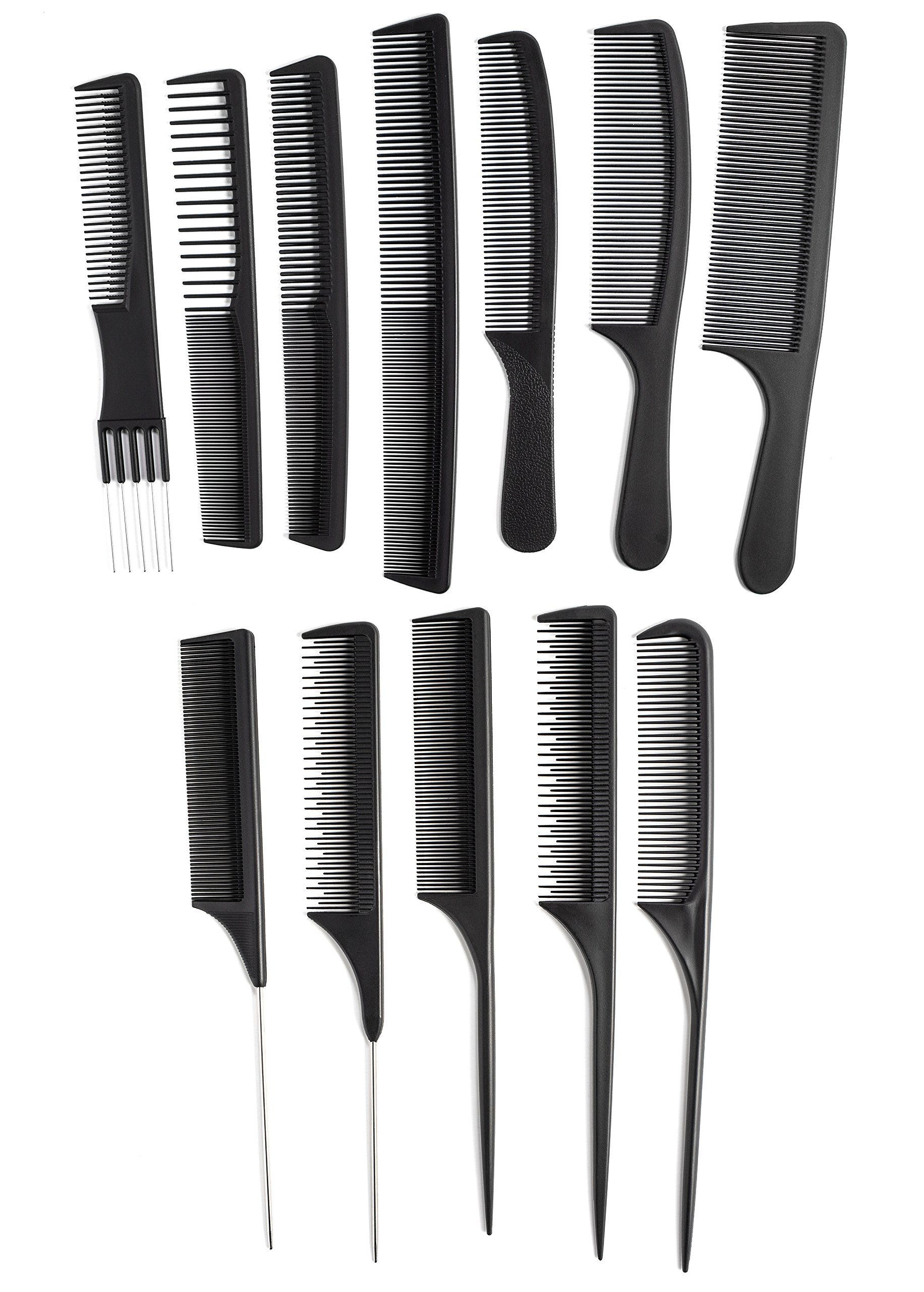 OneDor Professional Salon Hairdressing Styling Tool Hair Cutting Comb Sets Kit