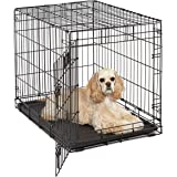 Life Stages LS-1630 Single Door Folding Crate for Medium Dogs(26 - 40lbs)