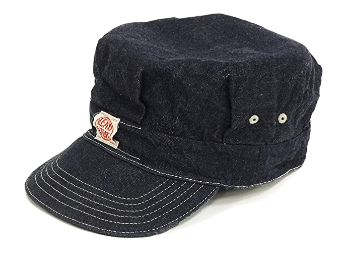 83d1d7ecf16 HEADLIGHT Engineer Cap Work Cap Men s Workman s Hat HD02415 Blue Denim (7  1 4