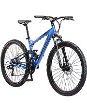 """Schwinn Men's Protocol 2.7 Mountain Bike, 27.5"""" Wheels, 17"""" Frame Size, Matte Blue"""