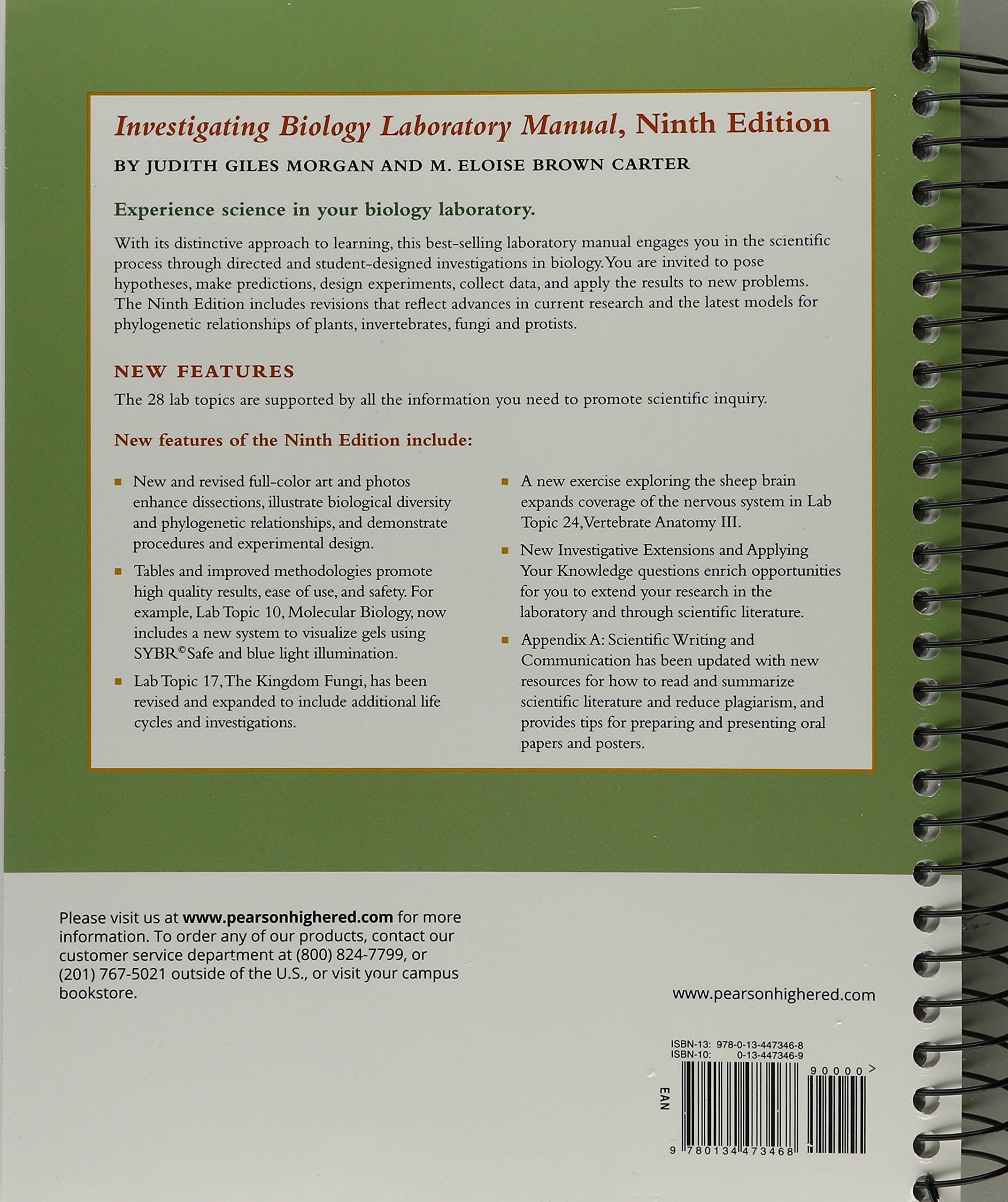 Buy Investigating Biology Laboratory Manual Book Online at Low Prices in  India   Investigating Biology Laboratory Manual Reviews & Ratings -  Amazon.in
