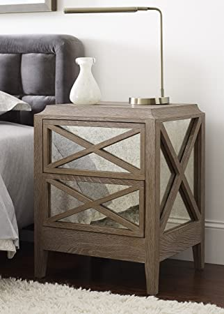 Outstanding Amazon Com Tommy Hilfiger Ludo Nightstand With Four Antique Short Links Chair Design For Home Short Linksinfo