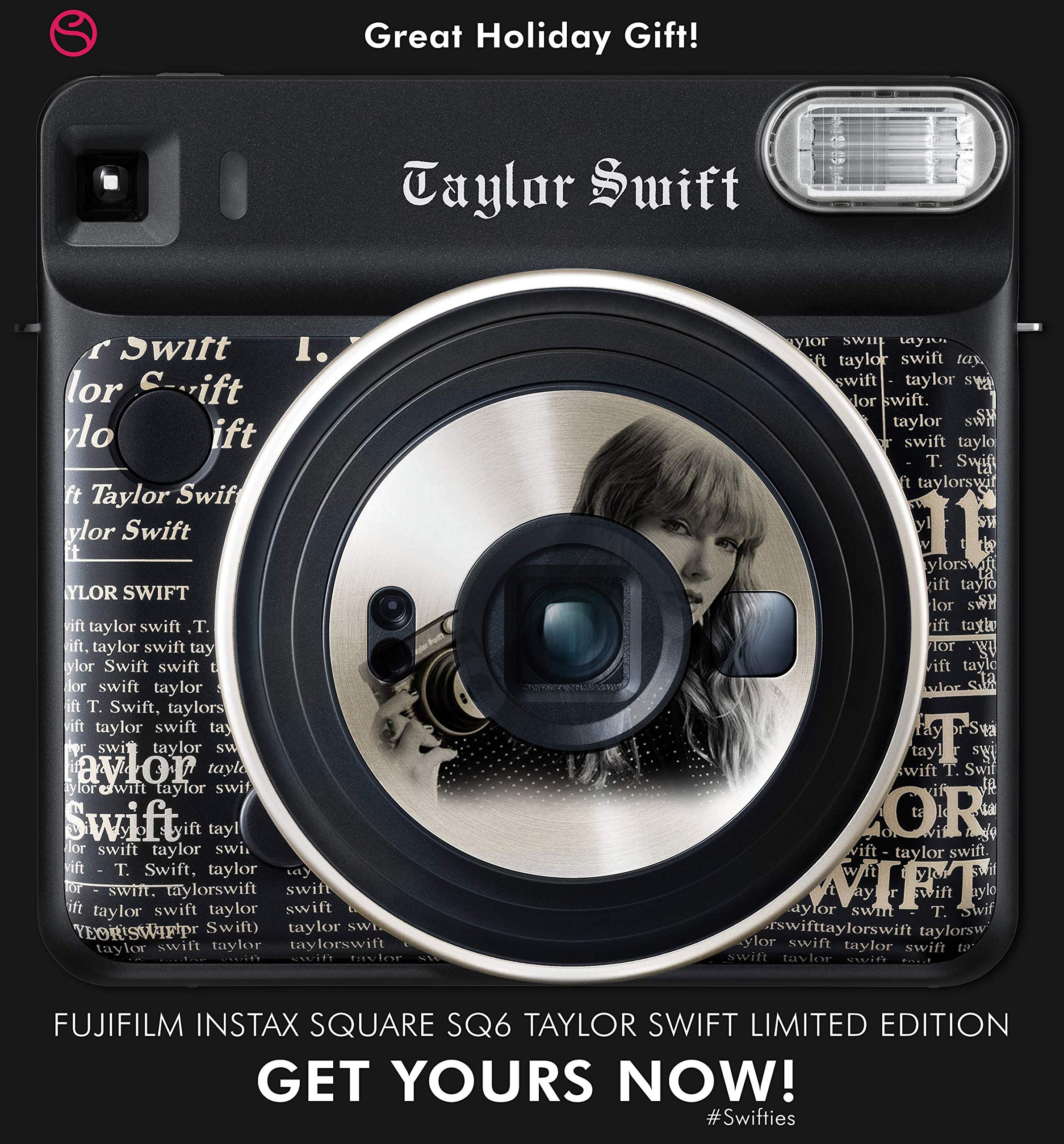 Fujifilm instax Square SQ6 Instant Film Camera (Taylor Swift Limited Edition) with Square Instant Film Bundle by Fujifilm (Image #3)