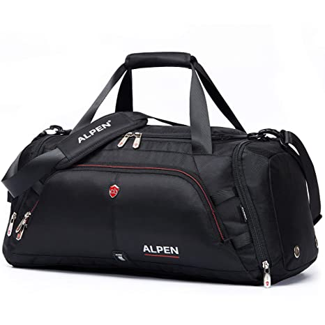 15efff451b Swiss Alpen - Cervino Duffel - Water Resistant Durable 1680D Carry On  Travel Duffel Bag Gym