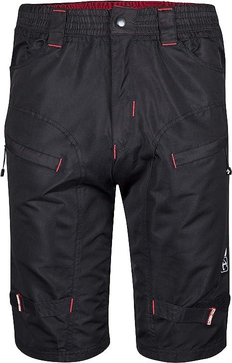 DEKO pantalones cortos de ciclismo para hombres negros para el ...
