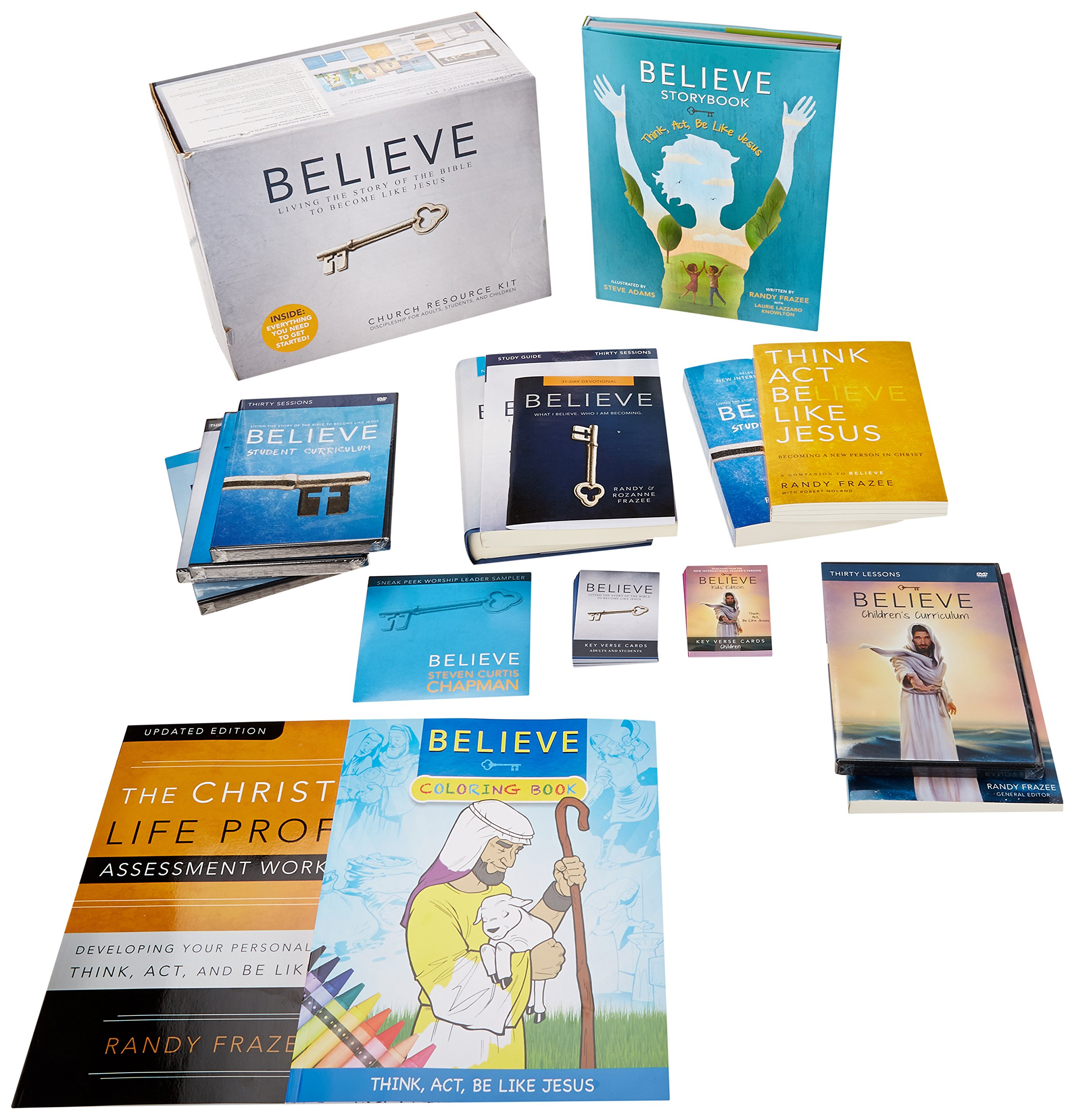 Download Believe: Church Resource Kit: Living the Story of the Bible pdf