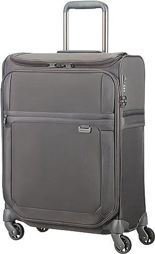 SAMSONITE Uplite – Spinner 55 20 Smart Top Hand Luggage, 55 cm, 41 liters, Grey