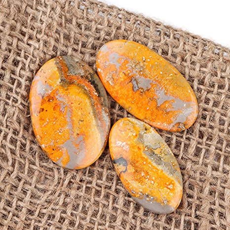 Natural Ocean Jasper Earring Pair Rectangle Cabochon Cab Pair Drilled Matched Earrings Bead Pair Natural Stone E1860