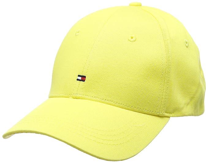 Tommy Hilfiger BB Cap Print, Gorra de béisbol para Mujer, Amarillo (Sunshine 718