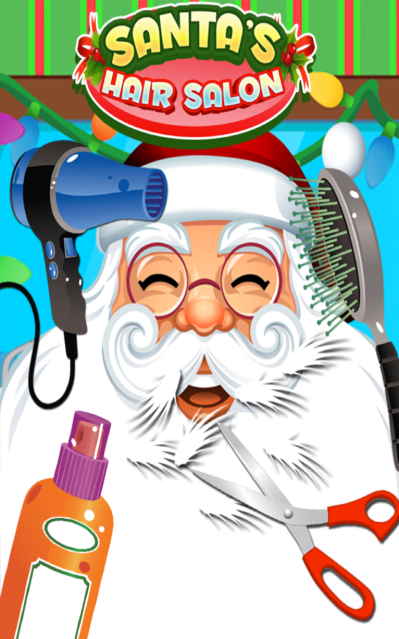 christmas hair salon santa 39 s barbershop kids cuts free