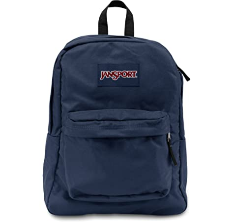 official newest selection outstanding features JanSport Super break 25 Liters Blue Casual Backpack ...