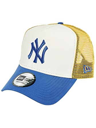 1b1af203950 New Era Yankees A-Frame Trucker Multi One Size  Amazon.co.uk  Clothing