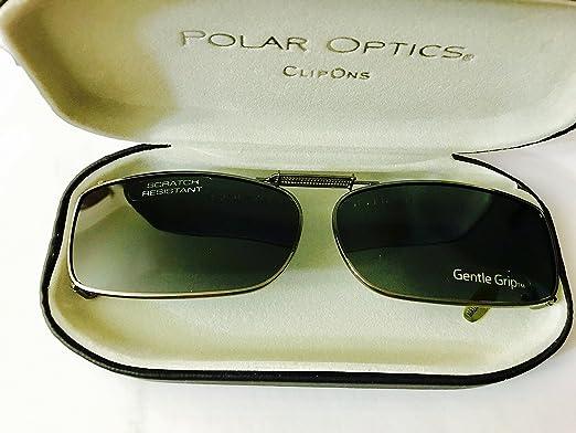 23fbbcaae71 Polar Optics clip ons premium Polarized hard case incl 54 REC A Sunglasses   Amazon.co.uk  Clothing
