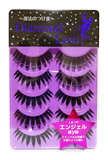 a08cf1a9e9e Amazon.com : Diamond Lash False Eyelashes, Lady Glamourous Series 512, 1  Ounce : Fake Eyelashes And Adhesives : Beauty