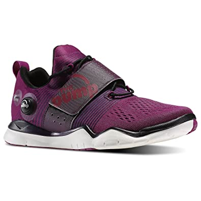 0086d44fec6 Reebok Womens Fitness   Training Zpump Fusion Tr in Fierce Fuchsia Royal  Orchid Size 9