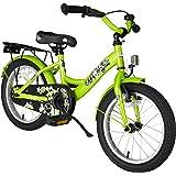 BIKESTAR® Premium Kinderfahrrad für sichere und sorgenfreie Spielfreude ab 4 Jahren ★ 16er Classic Edition ★ Brilliant Grün