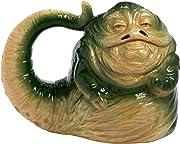 Cerchi un regalo per un appassionato di Star Wars che già non abbia? Prova questa tazza di Jabba the Hutt, per completare la sua collezione di tazze!